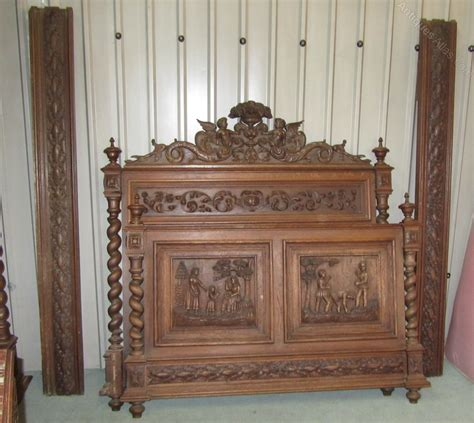 carved oak bedroom set antiques atlas