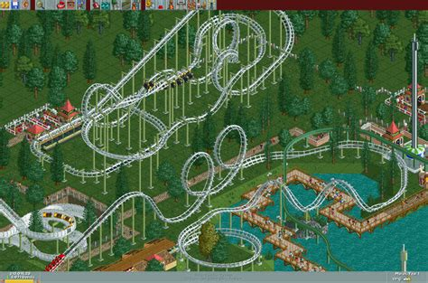theme park gog rollercoaster tycoon good old review good old reviews