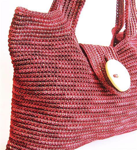 Crochet Tapestry Bag Pattern | tapestry shoulder bag crochet pattern by chabegs crochet
