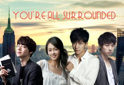 You Re All Surrounded you re all surrounded k drama write them all