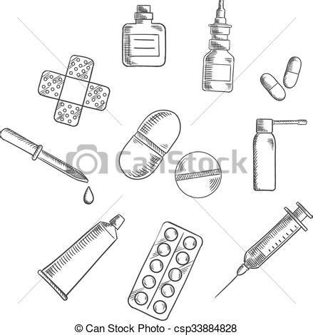 imagenes para pintar sobre la droga dibujos drogas p 237 ldoras iconos m 233 dicos pega tube
