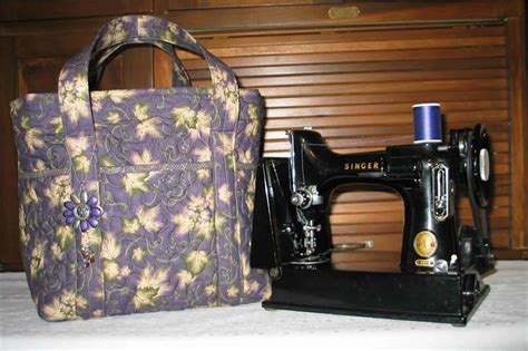 pattern sewing machine bag quilted featherweight sewing machine tote bag pattern sbk