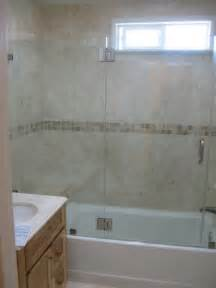By pass shower enclosure and install a total frameless shower door