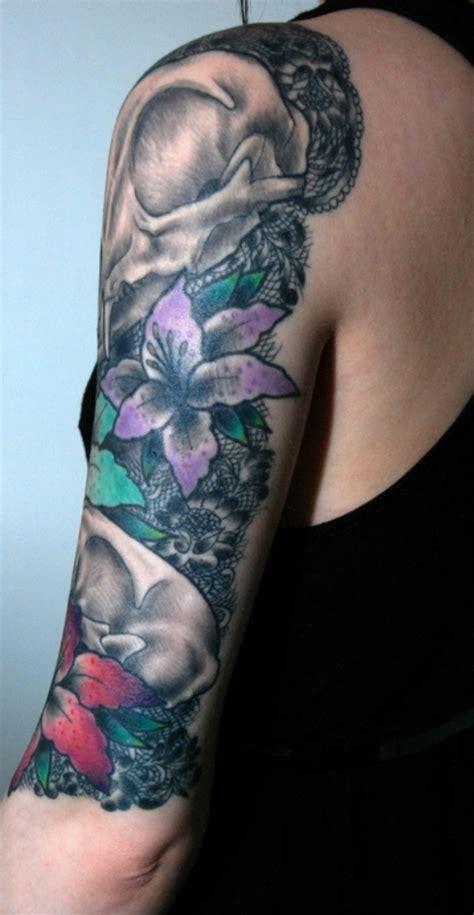 tattoo lace shoulder 61 nice lace shoulder tattoos