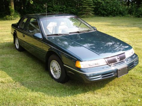 how things work cars 1992 mercury cougar on board diagnostic system 1992 mercury cougar 25th anniversary edition for sale in elyria ohio united states