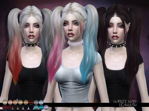 sims 2 female hair tsr the sims resource leah lillith s leahlillith harley hair
