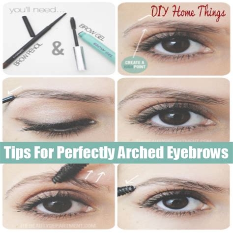 eyebrows at home images