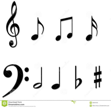 note pattern meaning 7 best images of printable symbols music note music