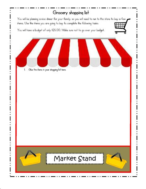 shopping for sheets lesson plan activities decimals