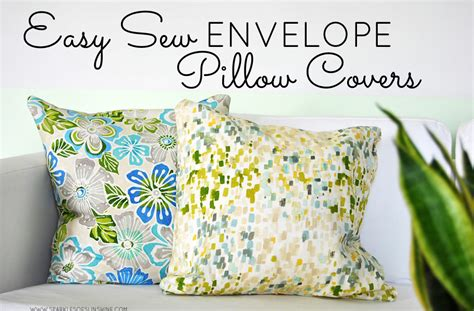 sewing pattern envelope pillow cover easy sew envelope pillow covers sparkles of sunshine