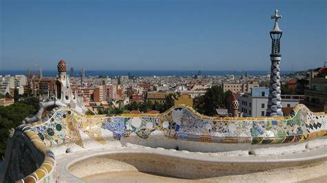 Banc Parc Guell by Parc G 252 Ell Meet Barcelona