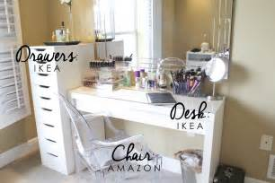 Vanity Table Organization Ideas great ideas on how to put together your own organized vanity a m b l o g p o s t