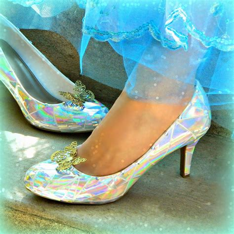 diy cinderella shoes how to make a wearable version of cinderella s glass