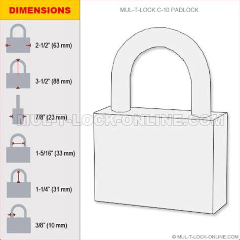 mul t lock 187 mul t lock c10 padlock