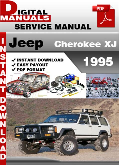 download car manuals pdf free 1995 jeep cherokee instrument cluster jeep cherokee xj 1995 factory service repair manual download manu