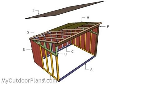 Goat Shed Plans Free by Shelter Plans Free Outdoor Plans Diy Shed