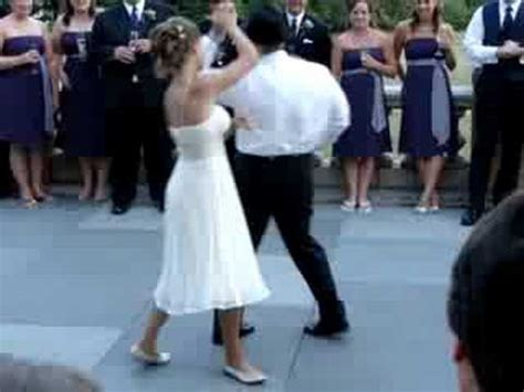 swing dance first dance steven and cindy wedding swing first dance jive youtube
