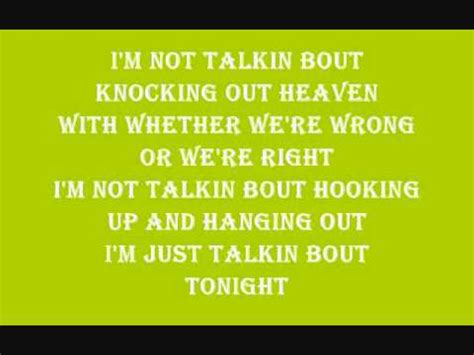 toby keith i m just talkin about tonight toby keith i m just talkin about tonight lyrics youtube