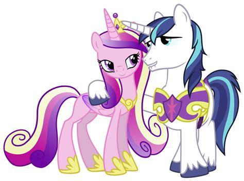 my little pony princess cadence shining armor cadence and shining armor by punchingshark on deviantart