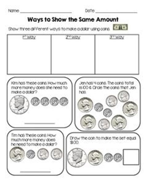 1000 images about math counting money on