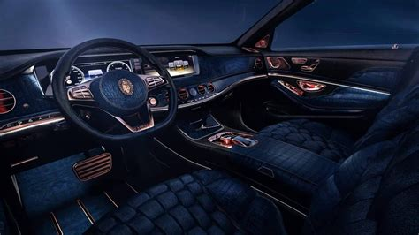 inside maybach scaldarsi emperor i mercedes maybach s 600 modified to