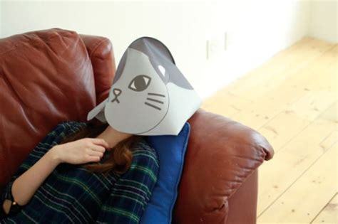 Cat Fresh Air Mask cat mask protects from dryness while you sleep