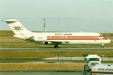 hawk air cargo douglas dc 9 15f n563pc denver international aircraft airport