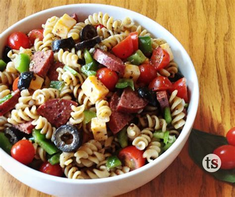 pasta salad recipes italian pasta salad recipe dishmaps
