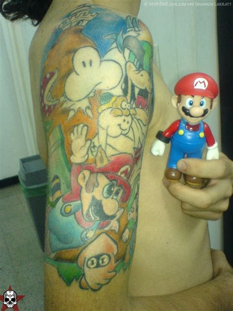 tattoos of cartoon characters video game and cartoon character tattoos gallery ebaum
