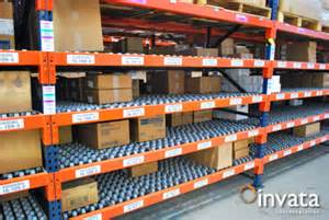 warehouse storage system invata intralogistics