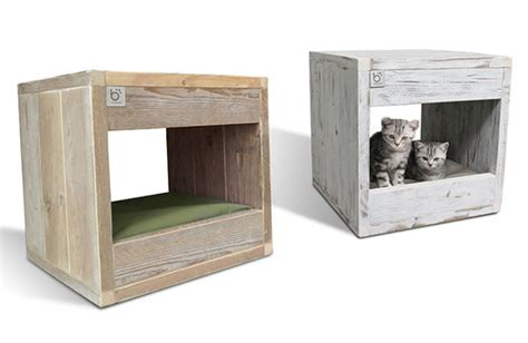 cat bed side table the bloq by binq design multi function modern cat design the bloq from binq
