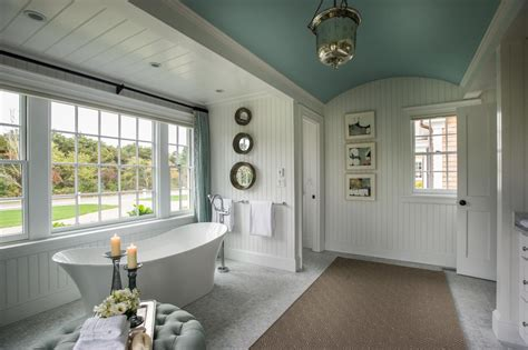 master homes dream home 2015 master bathroom blue curtains tubs and