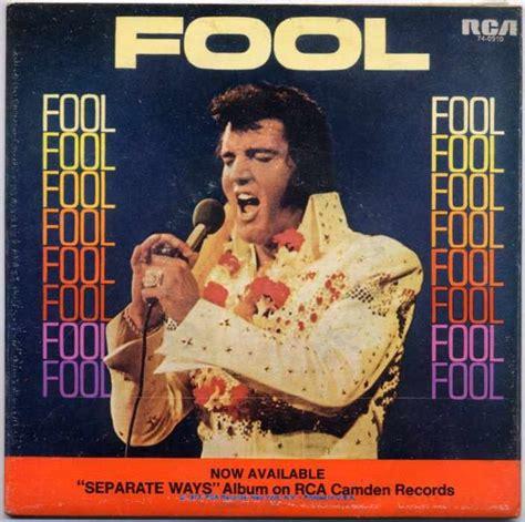 elvis presley fool ric vintage records shop