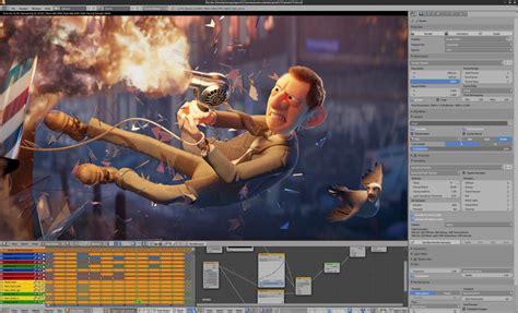 3d Room by Demo Files Blender Org