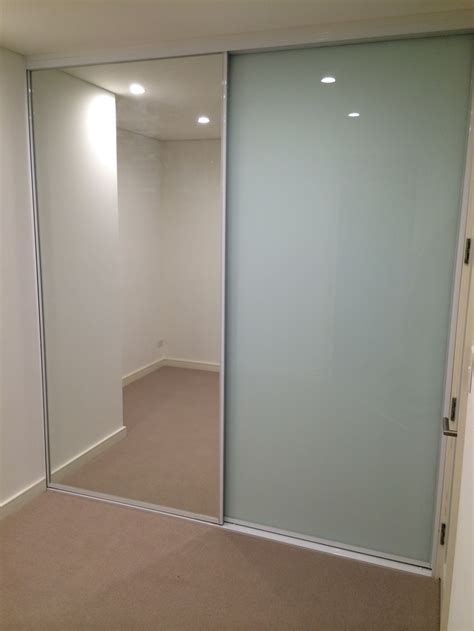 glass mirror wardrobe doors 82 frosted glass wardrobe doors mirror glass