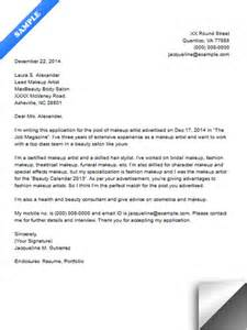 cover letter for freelance writer freelance makeup artist cover letter 29 about
