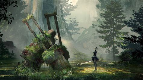 nier automata concept art wallpapers hd wallpapers id