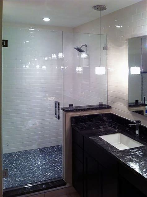 half glass shower doors glass shower enclosures and doors gallery shower doors