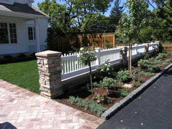 yard fence ideas kids love to play ball in the front