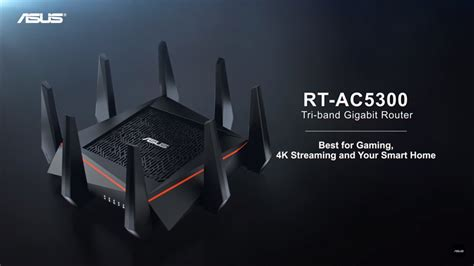 Wifi Router Asus Rt Ac5300 asus rt ac5300 wireless n ac5300 tri band gigabit router 11street malaysia routers