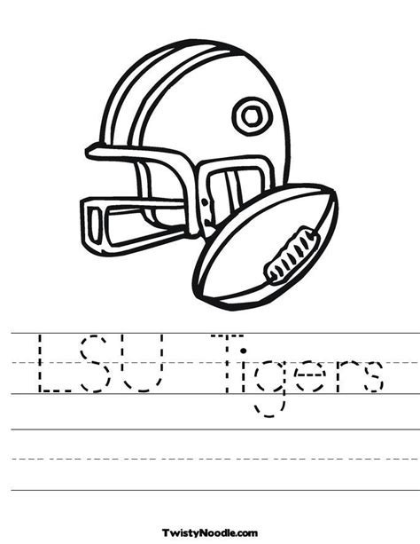 lsu coloring pages coloring home