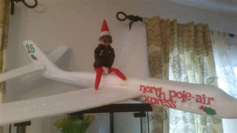 Pole On The Shelf by 40 Festive On A Shelf Ideas