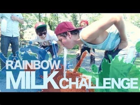 the rainbow milk challenge rainbow milk challenge jc caylen