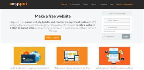 cara membuat website gratis melalui hp inilah 14 situs lengkap cara membuat website gratis