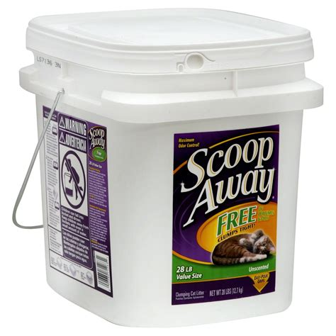 scoop  clumping cat litter unscented  size