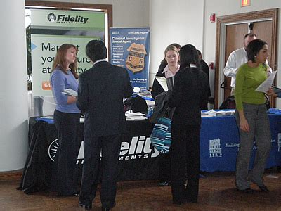 Fidelity Mba Careers by Fairs Finding A Career Services Clark