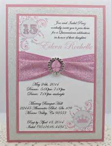 sweet sixteen quinceanera or wedding invitation in by invitebling