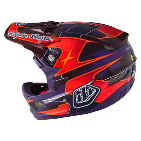 troy lee design helmet weight 187 troy lee designs d3 carbon helmet mips render purple 3