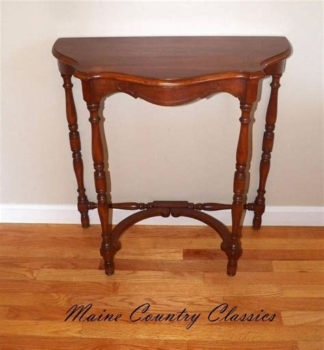 half circle entry table beautiful half entry table camalli