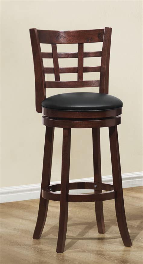 counter height settee homelegance 1142e 24s edmond swivel counter height chair